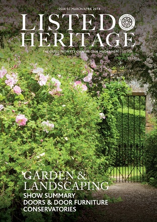 Listed Heritage Front Cover Issue 93 ...