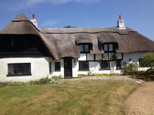 Thatched Cottage - front
